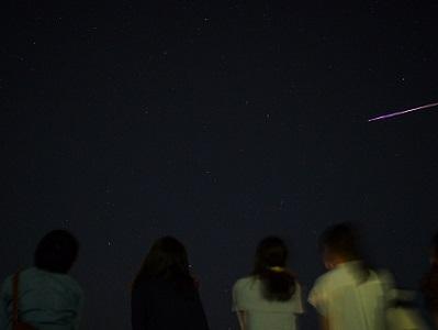 星空イメージ(流れ星)
