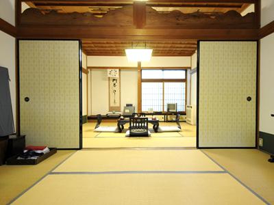 お部屋一例:落ち着く広さです