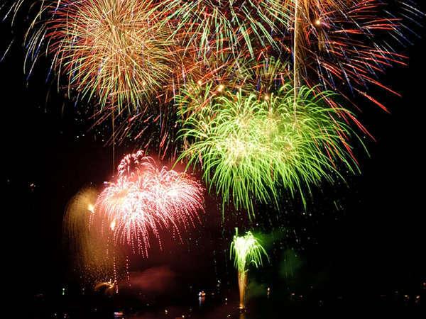 夏の鳥羽湾毎夜連続花火 ※写真はイメージです