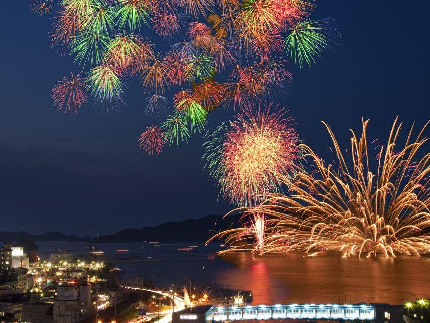 鳥羽最大の花火大会をご覧頂けます。(写真はイメージです)
