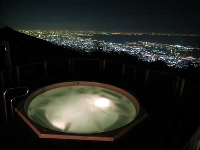 芦屋〜大阪間の夜景が見渡せるロケーション