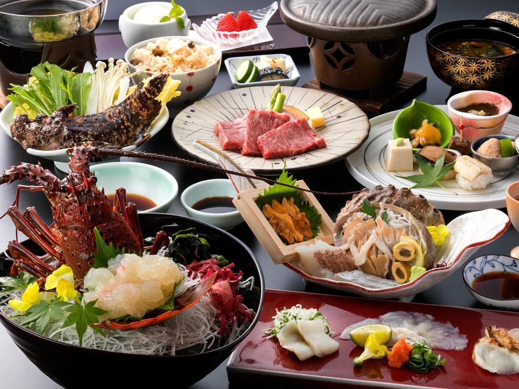 旬の食材から選び抜いた逸品 ※料理イメージですので詳しくは御品書きをご確認下さい