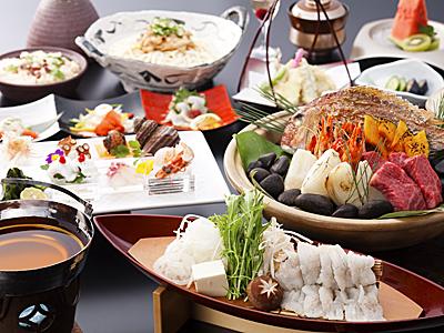 冬の味覚満載の季替り膳(料理イメージ)