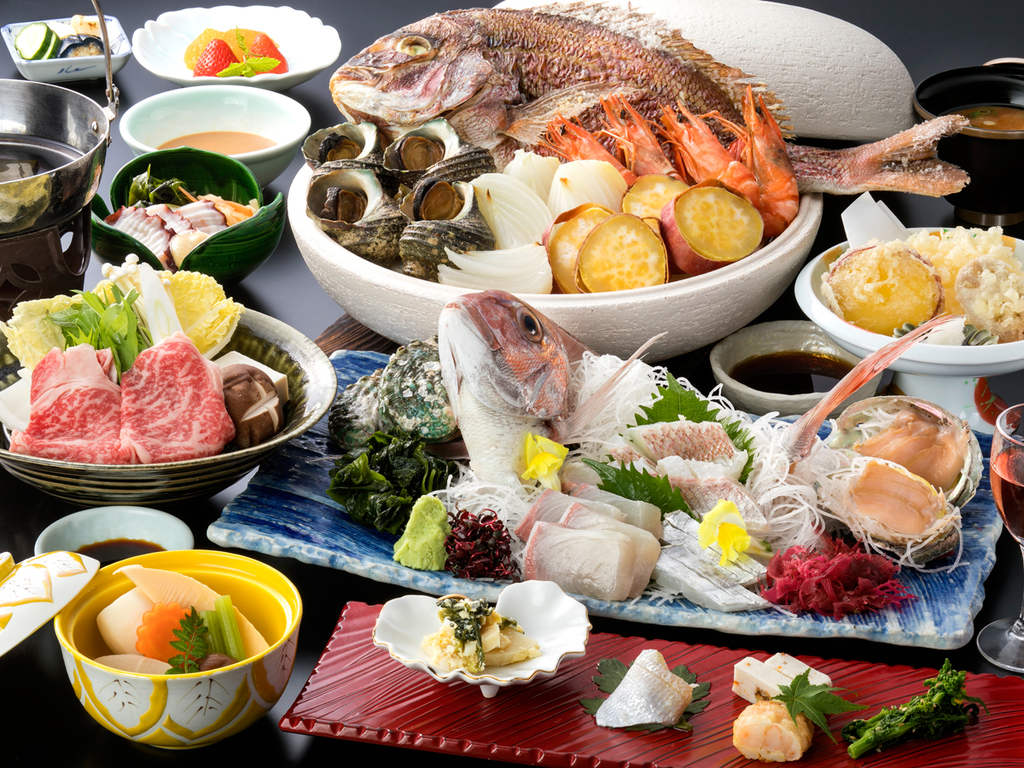 旬の淡路島の幸を盛り込んだ季替り膳(料理イメージ)