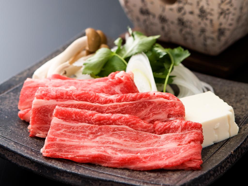 松阪牛などの素牛となった但馬牛のルーツである淡路牛のしゃぶしゃぶが90分食べ放題!≪料理イメージ≫