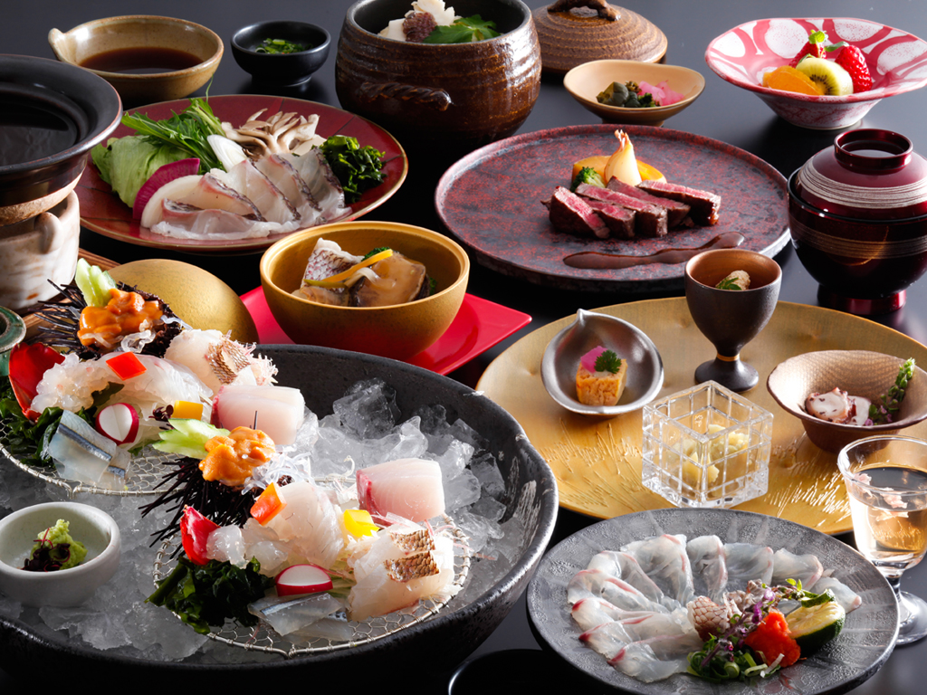 淡路島の郷土料理として有名な素材の旨みを閉じ込めた天然鳴門鯛のほくほく宝楽焼≪料理イメージ≫