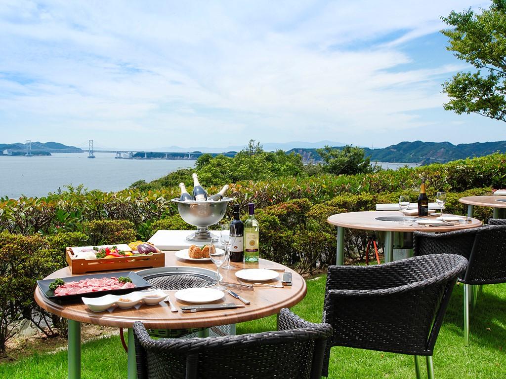 御食国・淡路島の山海の幸を夕陽で染まるガーデンテラスで愉しむ特選バーベキュー≪料理イメージ≫