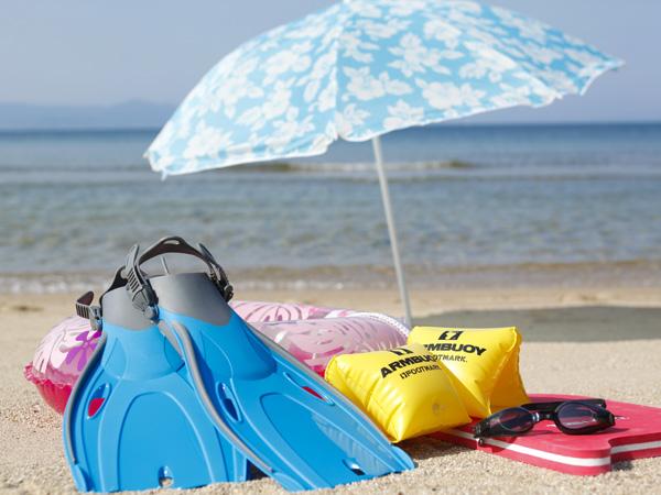 白砂青松の美しい大浜海水浴場