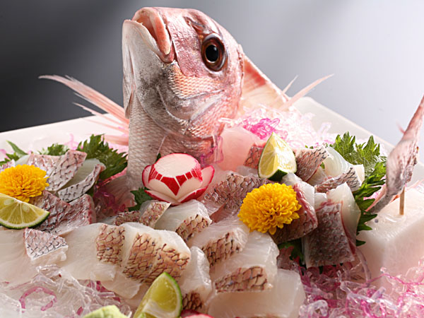 桜鯛の姿造り(イメージ)