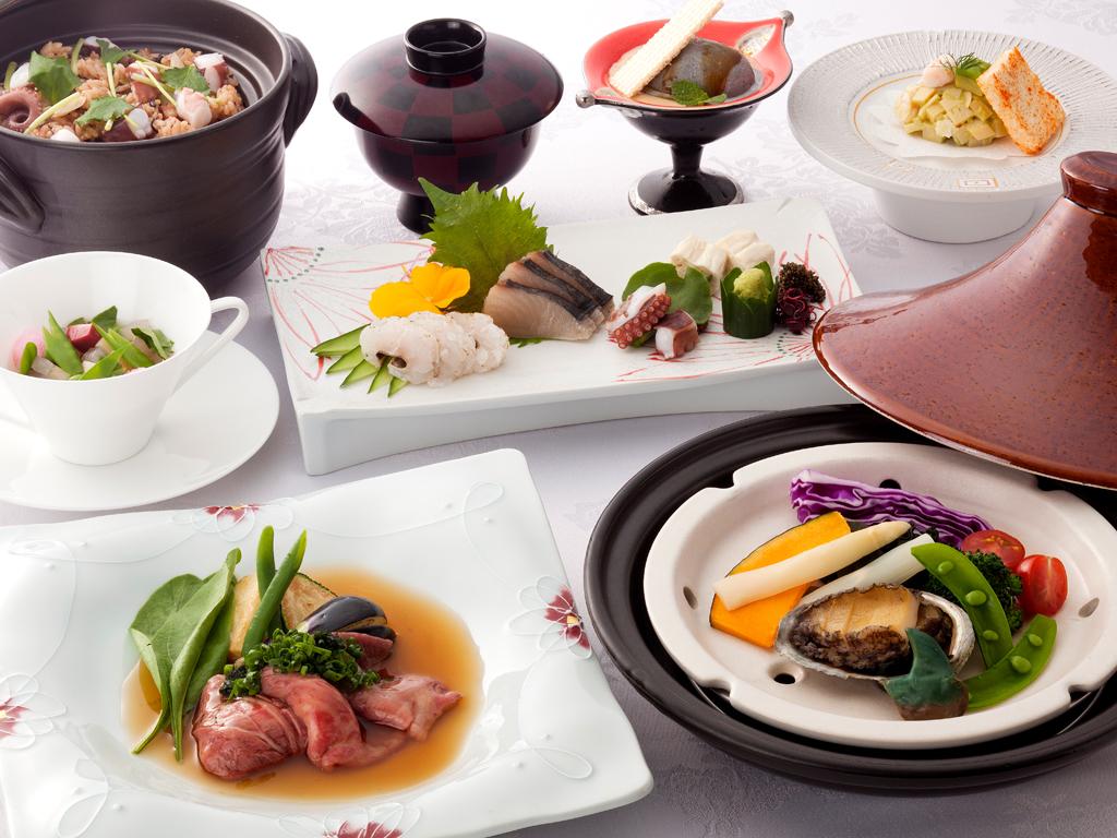 食の宝庫・淡路島で旬の素材をお愉しみください≪料理イメージ≫