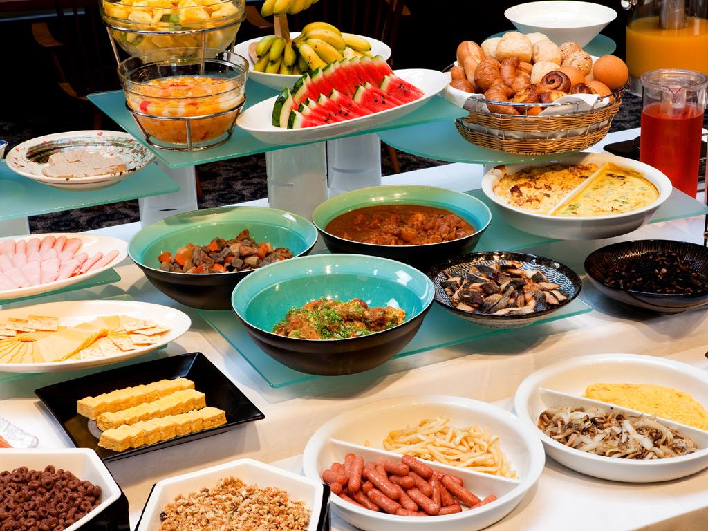 朝食は一日の活力の源♪お好きなものを存分に<br>ビュッフェで愉しめます≪料理イメージ≫