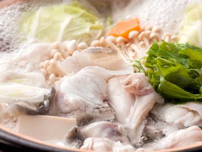 淡路島3年とらふぐの旨みをストレートに堪能できるてっちり鍋≪料理イメージ≫