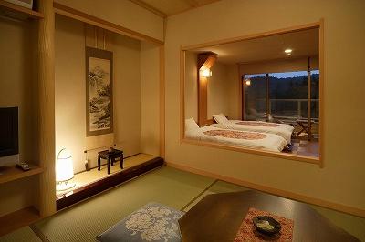 お部屋から眺める里山は、ゆったりとした癒しのひとときを与えてくれます。(画像はイメージです)