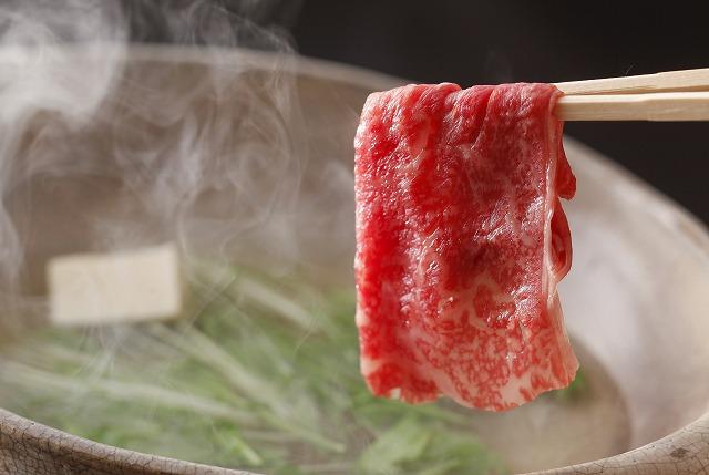 姫路和牛を贅沢にしゃぶしゃぶでお召し上がり頂きます。(画像はイメージです。)