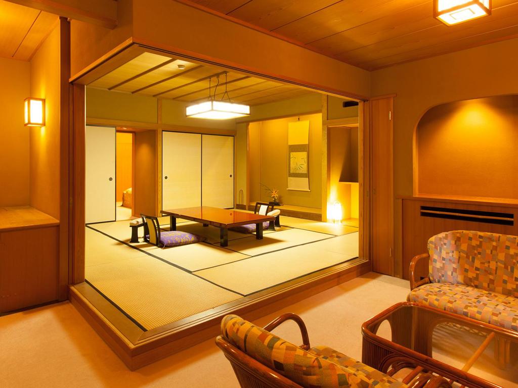 12畳の和室、ここまでは車椅子で可能です。