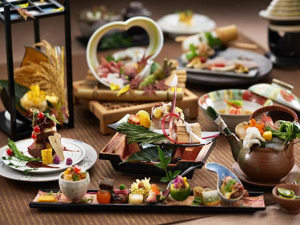 旬の食材を贅沢に使った会席をご用意致します