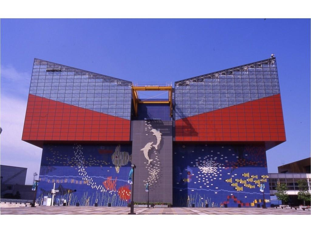 世界最大級の水族館【海遊館】