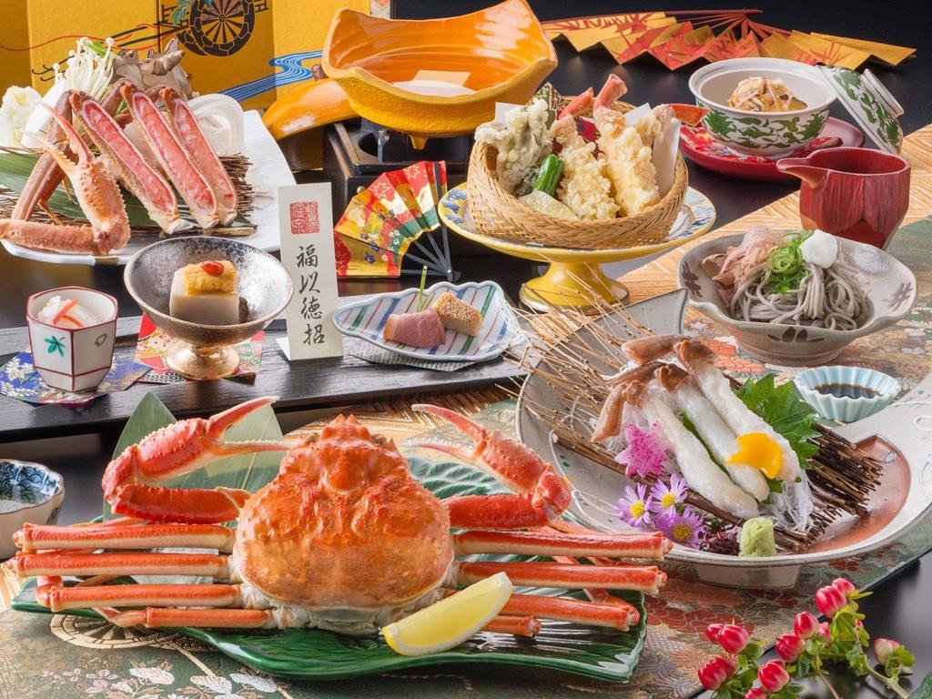 【料理】蟹三昧会席<イメージ>