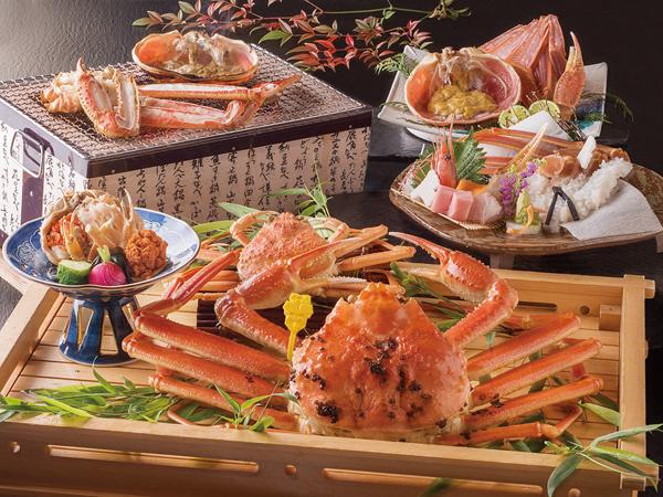 【料理】越前がに付・蟹三昧懐石<イメージ>