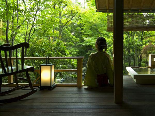 【客室】別邸「個止吹気亭」ガーデンスイート(和室):177号室<イメージ>