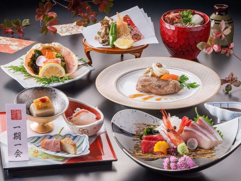 【料理】秋冬の基本会席<イメージ>