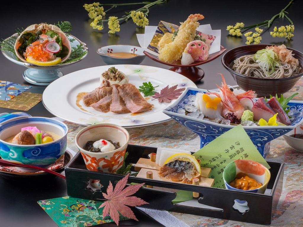 【料理】レストラン「季の蔵」秋冬のお値打ち会席<イメージ>