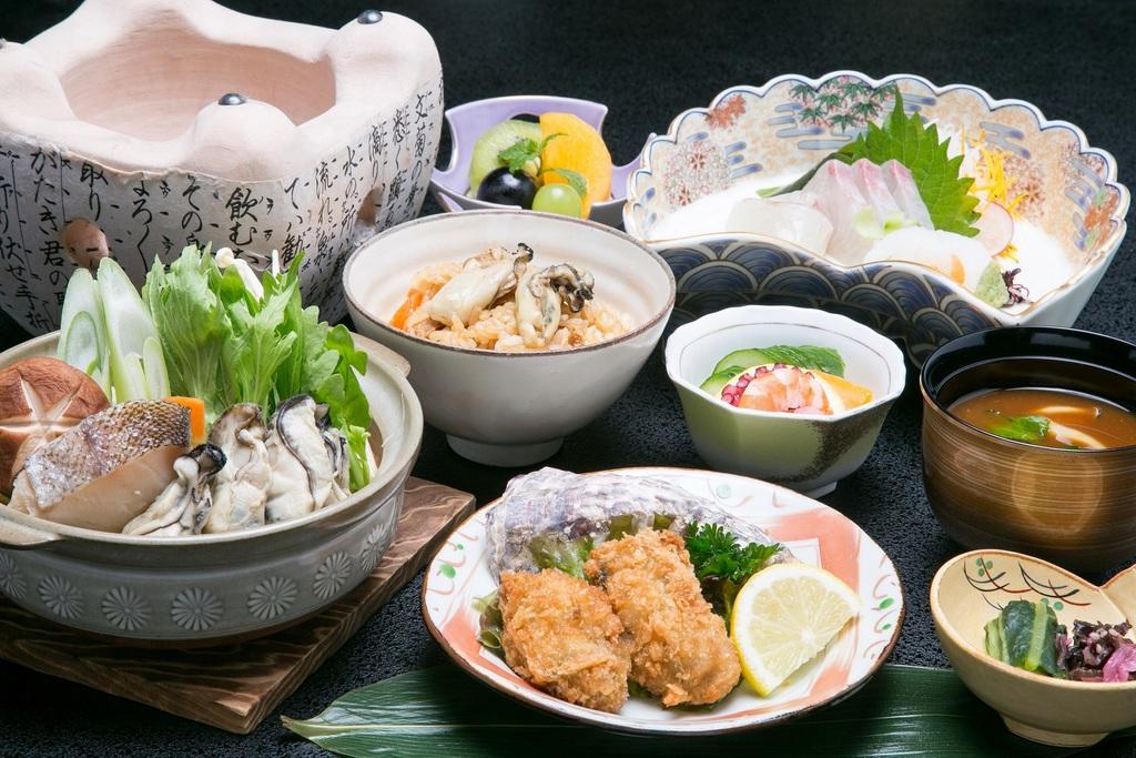 牡蠣会席(イメージ)