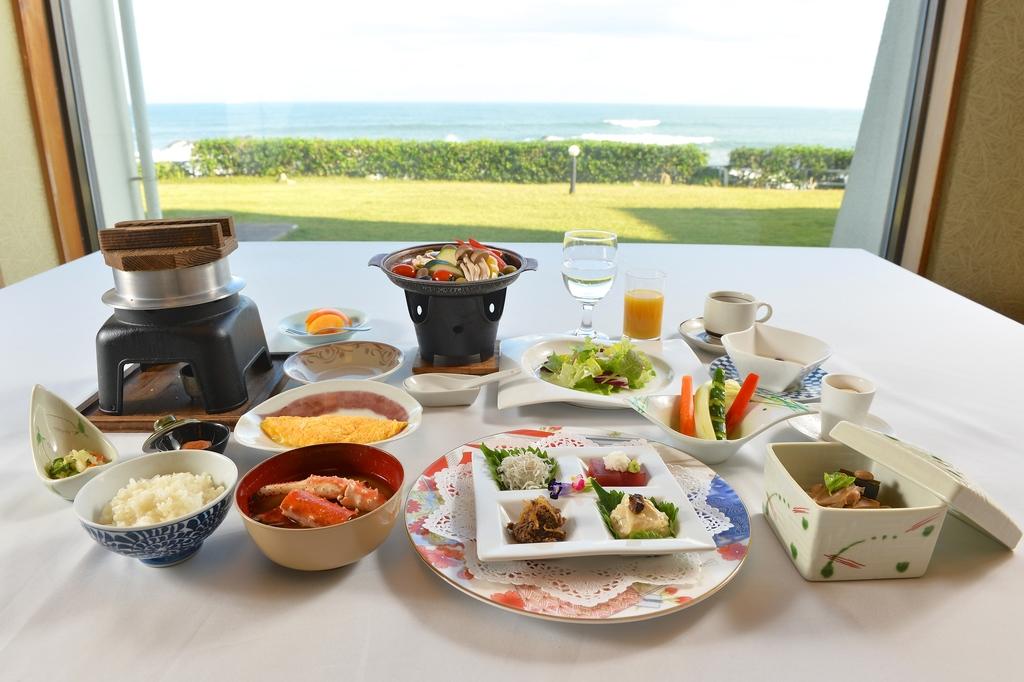 海の見えるレストラン「潮騒」でのプレミアム朝食♪