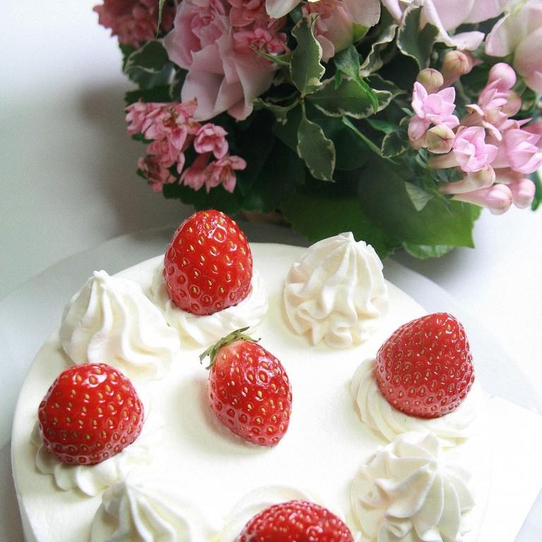 記念日にケーキを