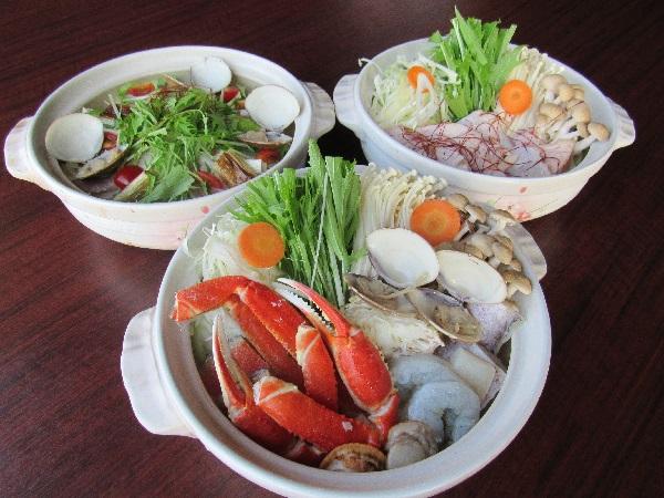 温泉女子会★選べる3種の女子鍋