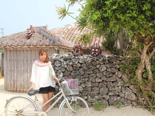 竹富島をのんびりサイクリング