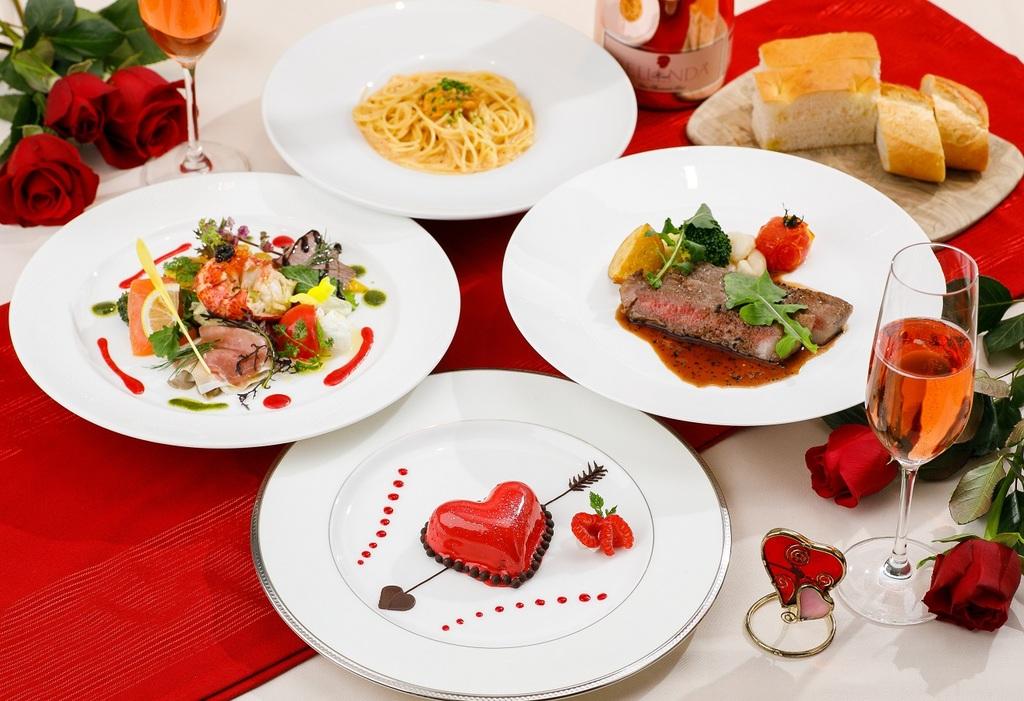 Make your day at Ristorante Azzurri with your Valentine♪