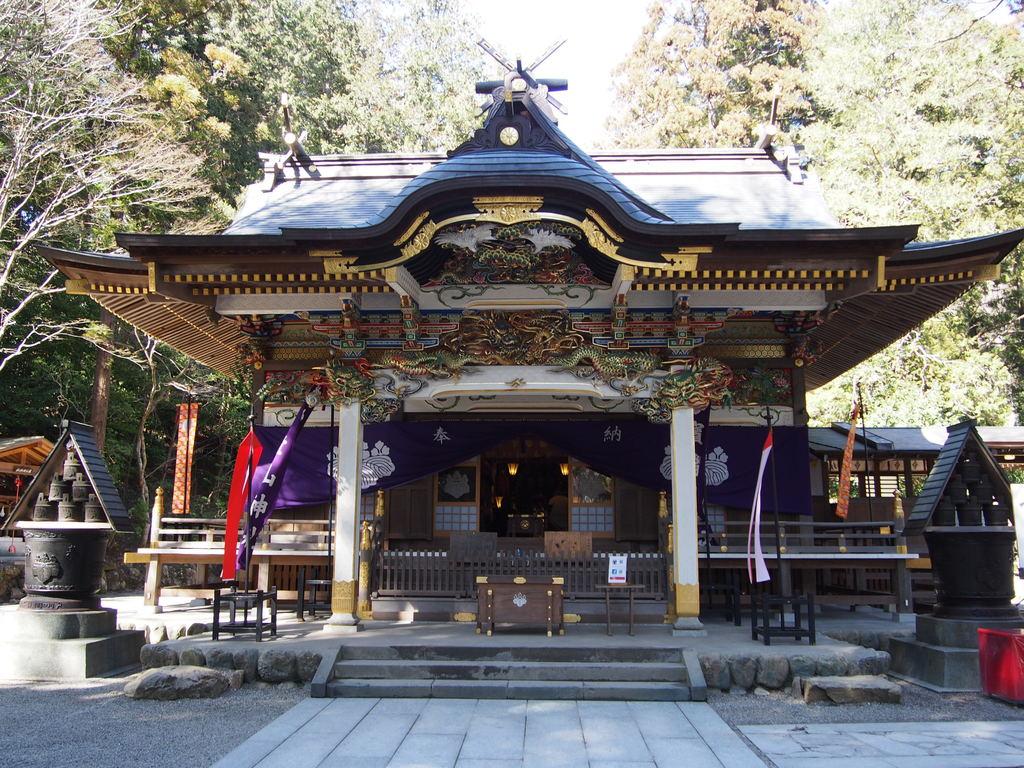 宝に登る山宝登山神社で初詣
