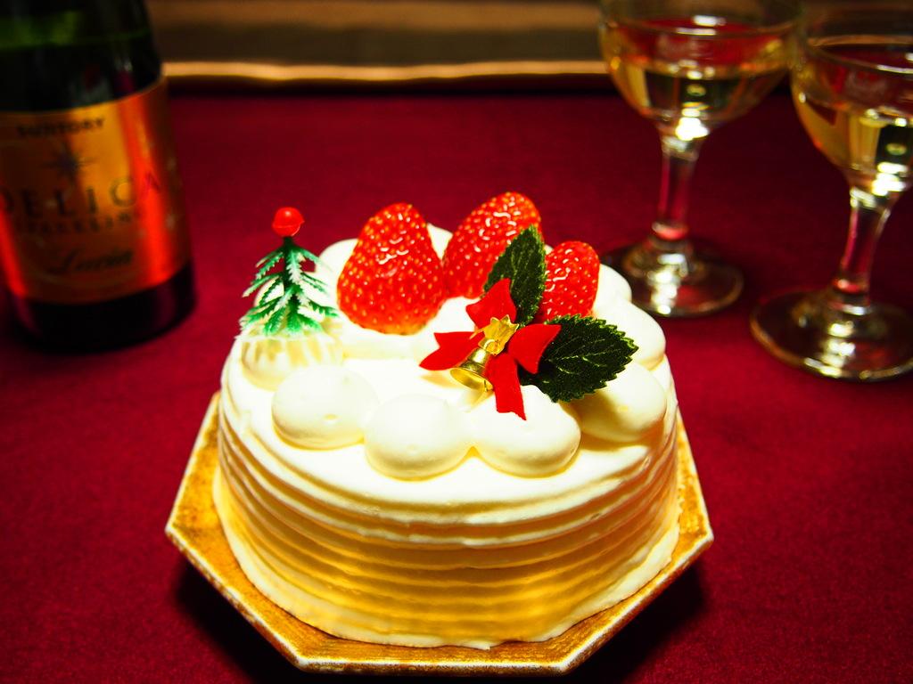 クリスマスケーキ付き!