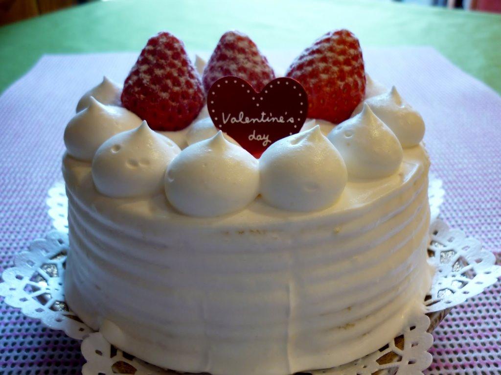 食後には美味しいケーキ♪
