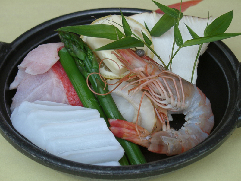 海鮮焼き料理のイメージ