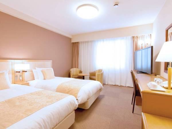 部屋は20平米のツインルーム