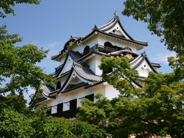 国宝天守の『彦根城』