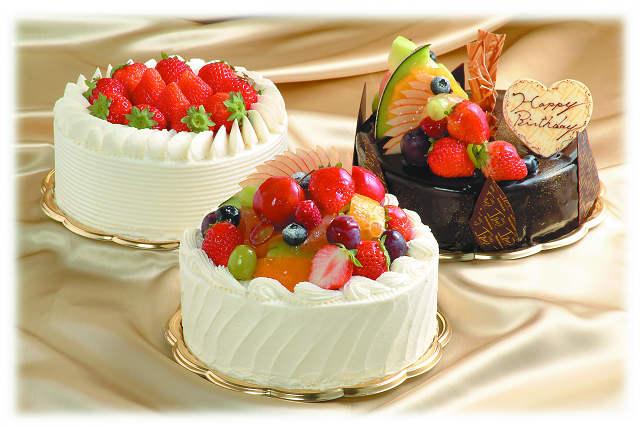 特典のホールケーキのイメージ画像
