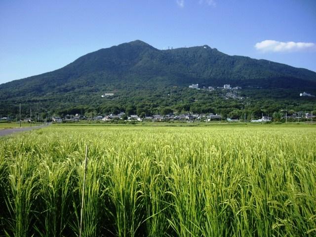夏の筑波山