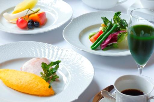 長楽館本館での朝食