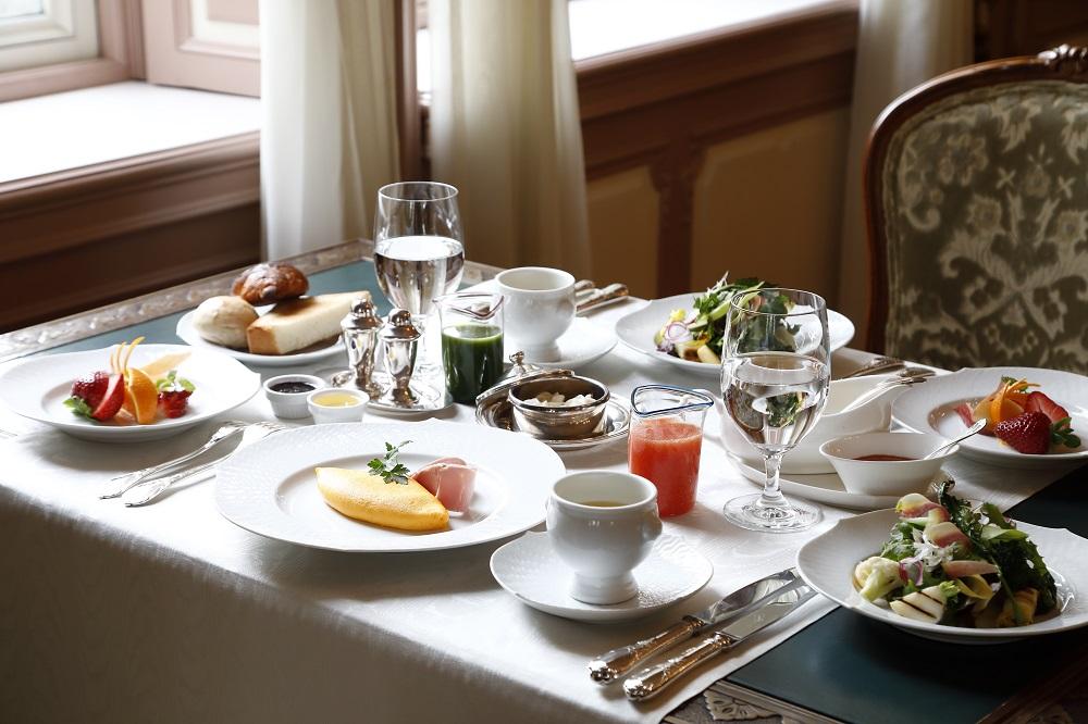 ホテル朝食 イメージ