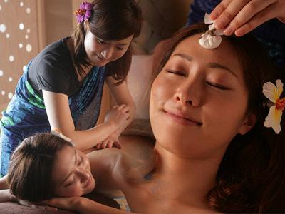 古代ハワイアンが医療として行っていた伝統的な癒しの方法である「ロミロミ」