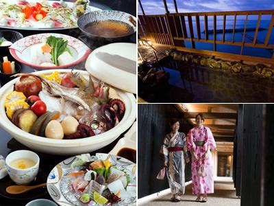 御食国「淡路島」の旬の食材を使用した自慢の会席料理を味わう日帰りプラン