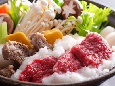 淡路ビーフ「チャンピオン牛」みぞれ鍋<br>≪料理イメージ≫