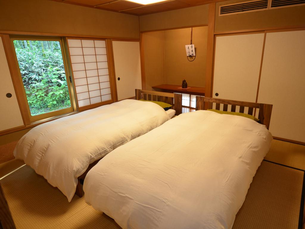 和室にベッドルームが備わったゆとり空間。