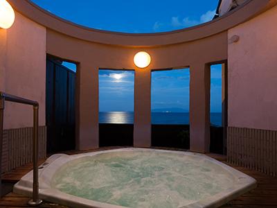 貸切風呂夜景