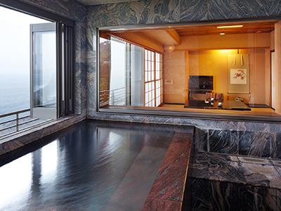 展望風呂客室一例