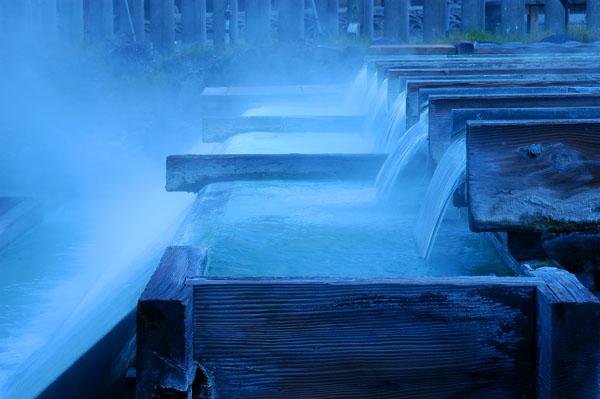 草津のシンボル、湯畑は当館のすぐ近くです。