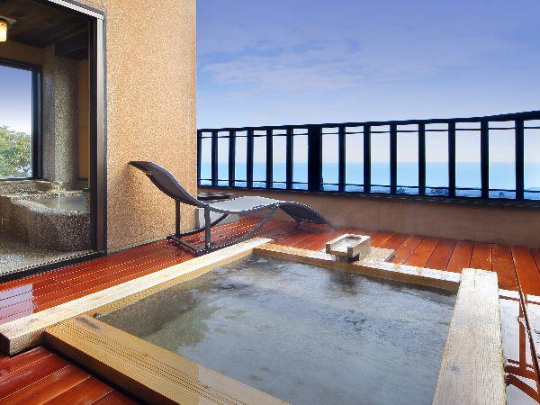 雪タイプ露天風呂です。